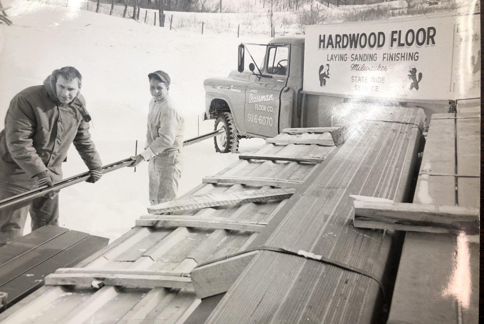 Hardwood floor Nashotah